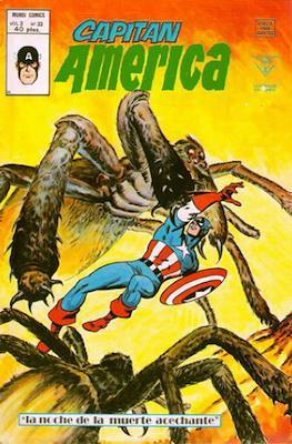 Capitán América Vol. 3 (1975-1980) (Grapa) #33