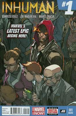Inhuman (2014-2015 Variant Cover) (Comic Book) #1.5