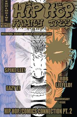 Hip Hop Family Tree #300 - Milestone, Variant, Limited, Ashcan Edition!