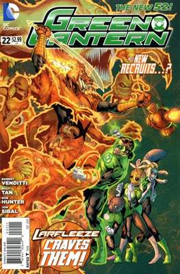 Green Lantern Vol. 5 (2011-2016) (Comic book) #22