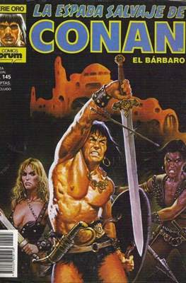 La Espada Salvaje de Conan. Vol 1 (1982-1996) (Grapa. B/N.) #145