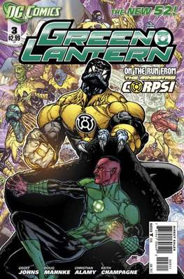 Green Lantern Vol. 5 (2011-2016) (Comic book) #3