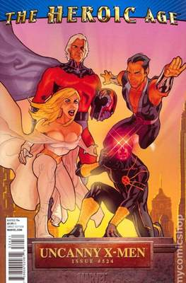 The Uncanny X-Men (1963-2011 Variant Cover) #524.1