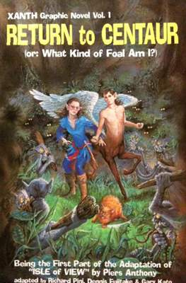 Return to Centaur (or: What Kind of Foal Am I?) - Xanth Graphic Novel