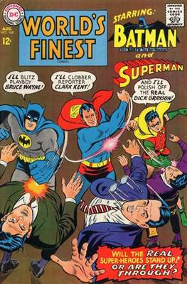 World's Finest Comics (1941-1986) (Comic Book) #168