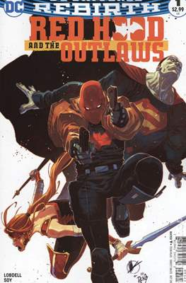 Red Hood And The Outlaws Vol. 2 (Variant Cover)