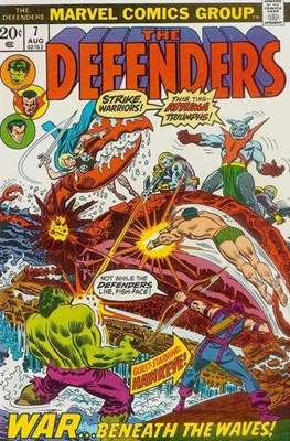 The Defenders vol.1 (1972-1986) (Grapa, 32 págs.) #7