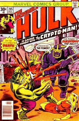 The Incredible Hulk Vol. 1 (1962-1999) (Comic Book) #205