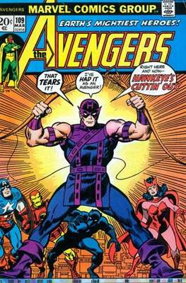 The Avengers Vol. 1 (1963-1996) (Comic Book) #109