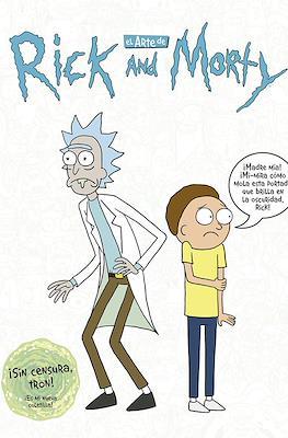 El Arte de Rick and Morty (Cartoné 294 pp) #