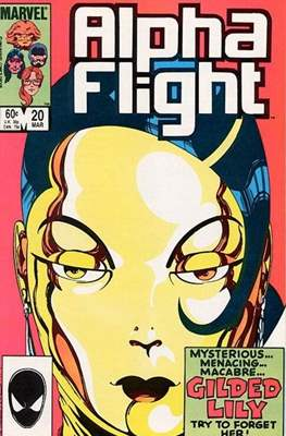 Alpha Flight Vol. 1 (1983-1994) (Comic Book) #20