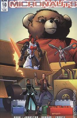 Micronauts (2016-2017 Variant Cover) (Comic Book) #10.2