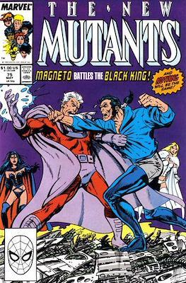 The New Mutants (Comic Book) #75