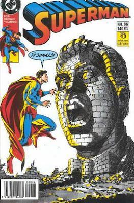Superman Vol. 2 (1987-1993). El hombre de acero / Superman (Grapa 36 pp) #86