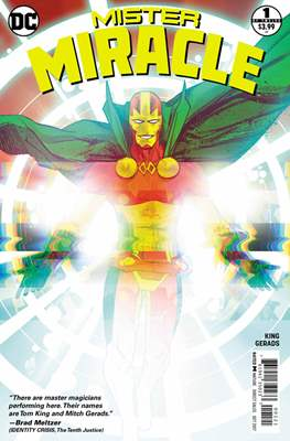 Mister Miracle (Vol. 4 2017- Variant Covers) (Comic Book) #1.1