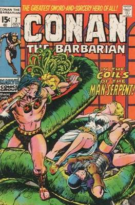 Conan The Barbarian (1970-1993) #7