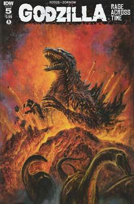 Godzilla Rage Across Time (Grapa 32 páginas - Color) #5