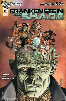Frankenstein, Agent of S.H.A.D.E. (2011-2013) #2