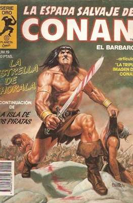 La Espada Salvaje de Conan. Vol 1 (1982-1996) (Grapa. B/N.) #19