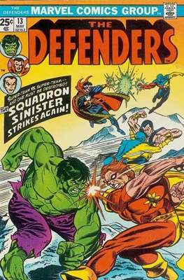 The Defenders vol.1 (1972-1986) (Grapa, 32 págs.) #13