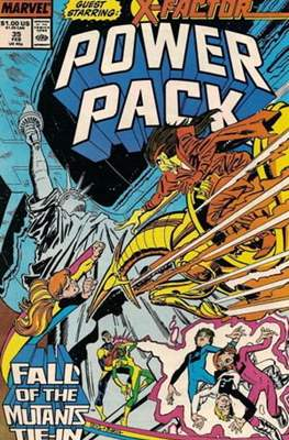 Power Pack (1984-1991; 2017) (Grapa) #35