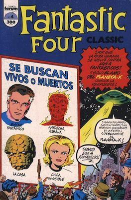 Fantastic Four Classic / Classic Fantastic Four (1993-1994) (Rústica 48 pp) #4