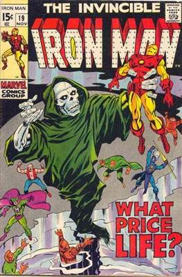 Iron Man Vol. 1 (1968-1996) (Comic book) #19