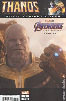 Thanos (2019 Variant Cover) (Comic Book) #1.5