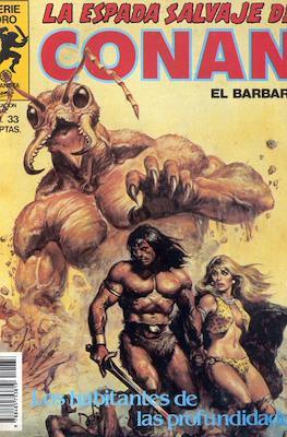 La Espada Salvaje de Conan. Vol 1 (1982-1996) (Grapa. B/N.) #33