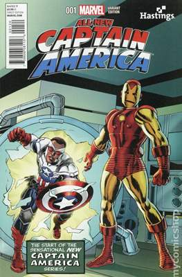 All-New Captain America (Variant Cover) #1.8