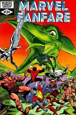 Marvel Fanfare Vol 1 #3