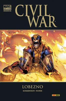 Civil War. Lobezno. Marvel Deluxe