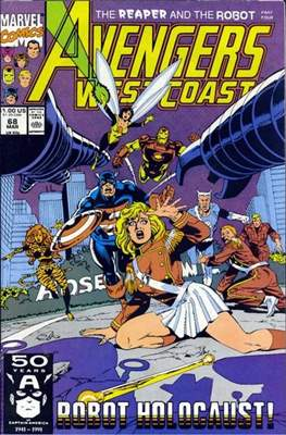 West Coast Avengers Vol. 2 (Comic-book. 1985 -1989) #68