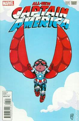 All-New Captain America (Variant Cover) #1.7