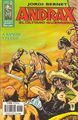 Andrax, el ultimo guerrero #2