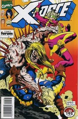 X-Force Vol. 1 (1992-1995) (Grapa 24-32 pp) #36