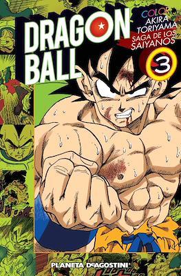 Dragon Ball Color: Saga de los saiyanos (Rústica con sobrecubierta) #3