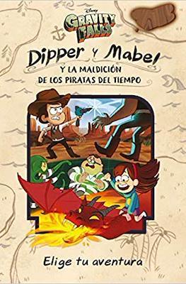 Gravity Falls. Dipper y Mabel y la maldición de los piratas del tiempo (Rústica) #