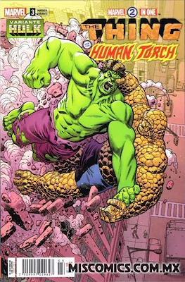 Marvel 2-In-One (2018-2019 Portada variante) (Grapa) #3