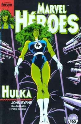 Marvel Héroes (1986-1993) (Grapa 32 pp) #38
