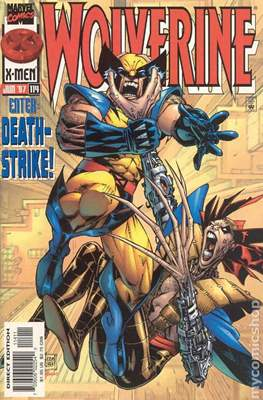 Wolverine (1988-2003 Variant Cover) (Comic Book) #114