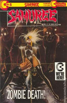 Samuree (1987-1991) (Comic Book 32 pp) #5
