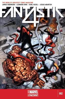Fantastic Four Vol. 5 (Comic Book) #2