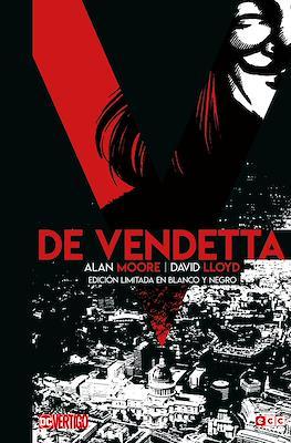 V de Vendetta - Edición limitada en blanco y negro