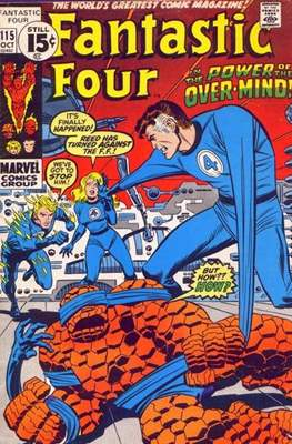 Fantastic Four Vol. 1 (1961-1996) (saddle-stitched) #115