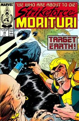 Strikeforce Morituri (Comic-book.) #22