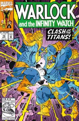 Warlock and the Infinity Watch (Comic-Book) #10