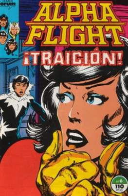 Alpha Flight Vol. 1 / Marvel Two-in-one: Alpha Flight & La Masa Vol.1 (1985-1992) #6