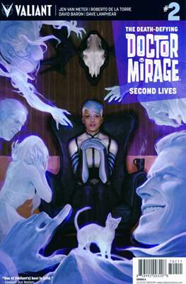 The Death-Defying Doctor Mirage: Second Lives (comic-book) #2