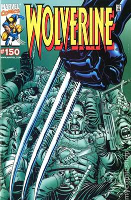 Wolverine (1988-2003 Variant Cover) (Comic Book) #150